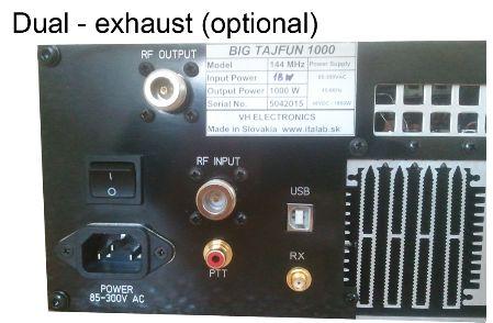BIGTAJFUN1000430MHz1KWPEPEME用リニアアンプ-1