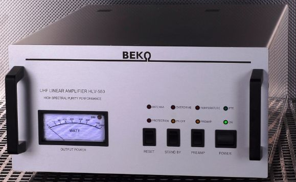 HLV-550リニアアンプ 430MHzリニア550W出力