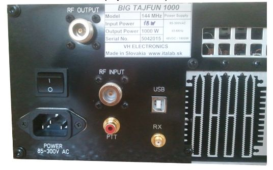 BIGTAJFUN1000144MHz1kwリニアアンプ-2